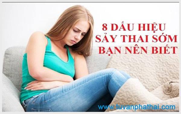 Các phương pháp bỏ thai an toàn sẽ cho bạn những dấu hiệu sảy thai sớm