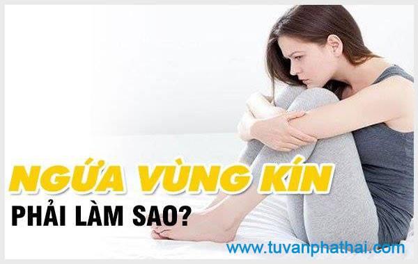 Chậm kinh ngứa vùng kín do viêm nhiễm phụ khoa gây ra