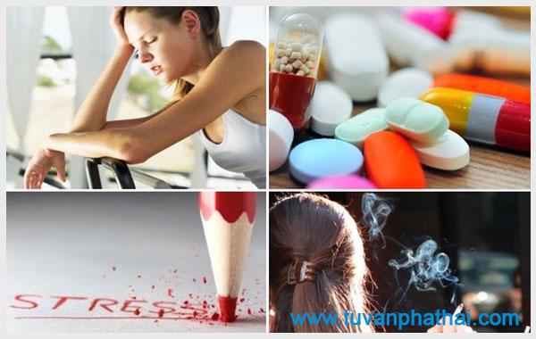 Bạn nên vận động cơ thể và ăn uống đủ chất khi bị chậm kinh