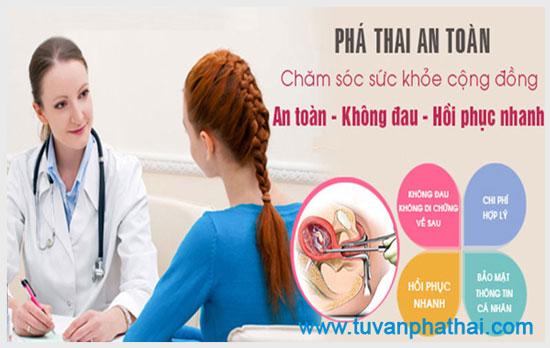 Thai phụ phải lưu ý tìm cho mình phòng khám phá thai uy tín, chất lượng